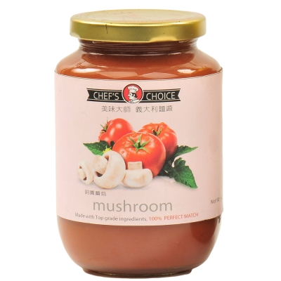 美味大師 義大利麵醬-田園蘑菇(470g)