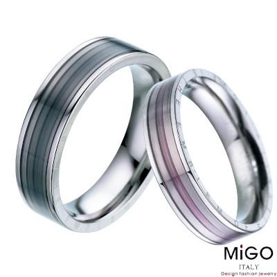 【MiGO 】繽紛對戒-男女各一只