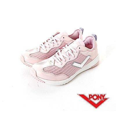 【PONY】PONY- SOHO+系列-舒適慢跑鞋-粉紅-女
