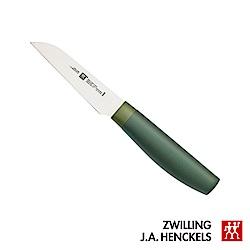 德國雙人牌 ZW Now S 蔬果刀 8cm-綠