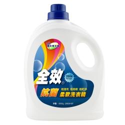 毛寶 全效抗菌柔軟洗衣精3500g