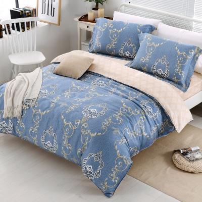HOYACASA羅瑞爾 雙人四件式天絲兩用被床包組