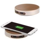CHANNEL WELL 桌上型雙USB無線充電器
