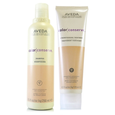 AVEDA 護色洗髮精250ml+護色潤髮乳200ml