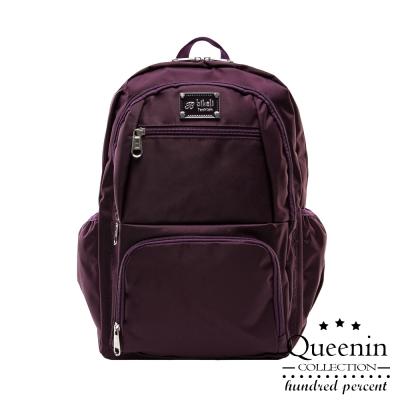 DF Queenin ~ 小資系休閒尼龍後背包~共2色