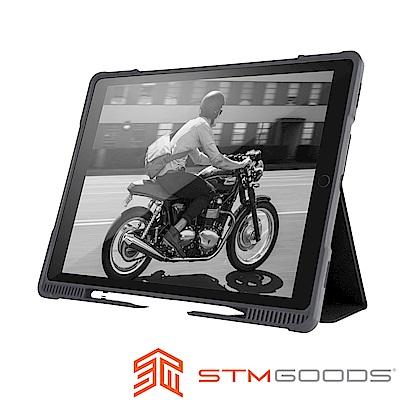 澳洲STM Dux Plus iPad Pro 12.9吋2017專用軍規防摔殼-黑