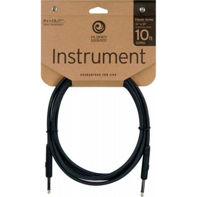 PLANET WAVES PWAC-PW-CGT-10 I-I 吉他經典樂器導線