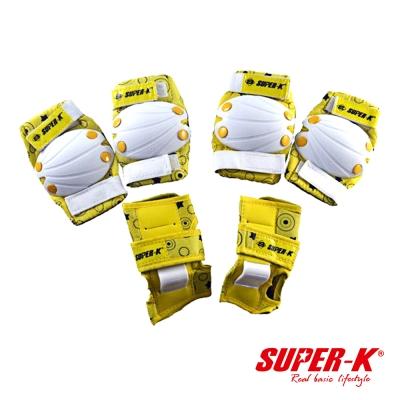 《凡太奇》SUPER-K。獅普高兒童護具組-L號