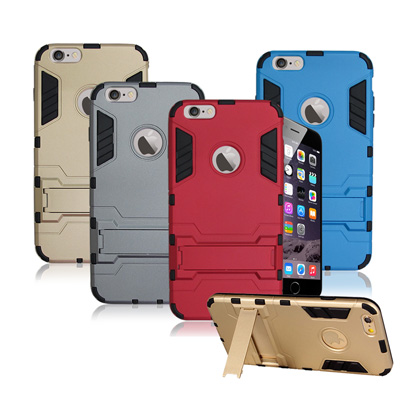 VXTRA iPhone 6/6s i6s 4.7吋 防震盔甲支架手機殼