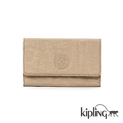 Kipling 長夾 瑪奇朵素面-小