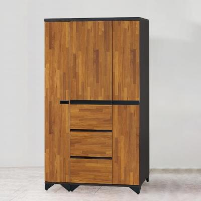 AS-艾莉西亞3.7尺衣櫥組-113x55x196cm