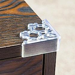 iSFun兒童防護 鏤空桌角防撞保護套 超值8入