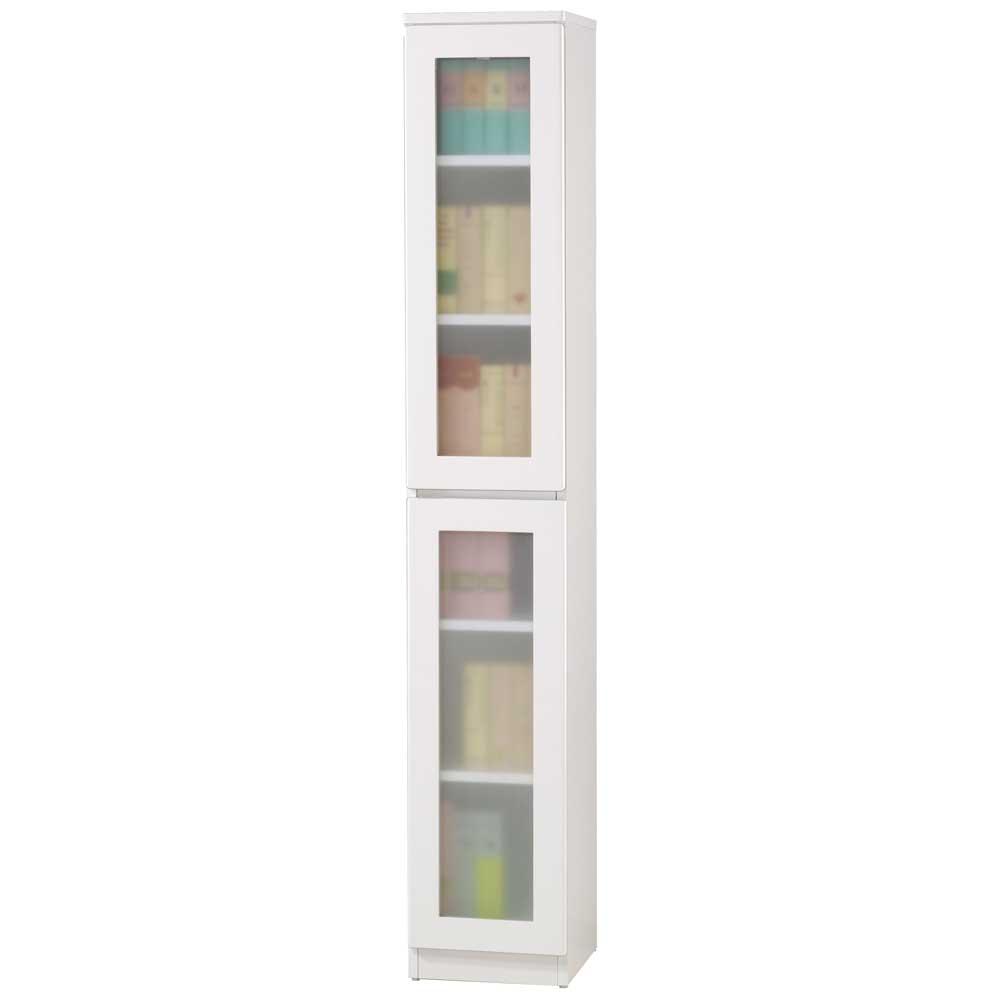 《夢想家》威尼斯1尺兩玻璃門鏡面PU書櫃