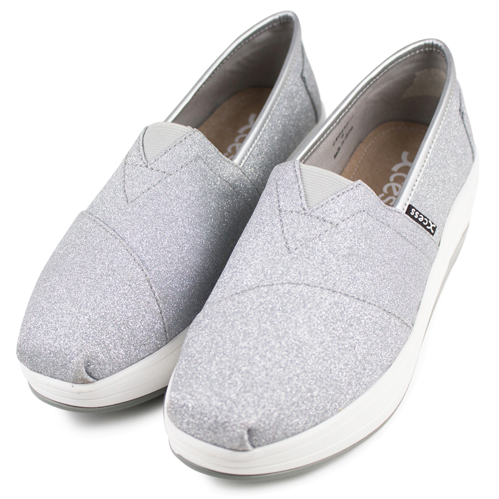 XCESS 女增高鞋 GW048SIL 星空銀