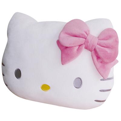 享夢城堡Hello Kitty頭型抱枕