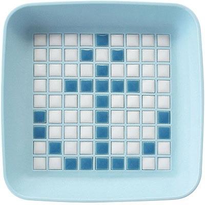 Sceltevie馬賽克拼貼置物盒藍