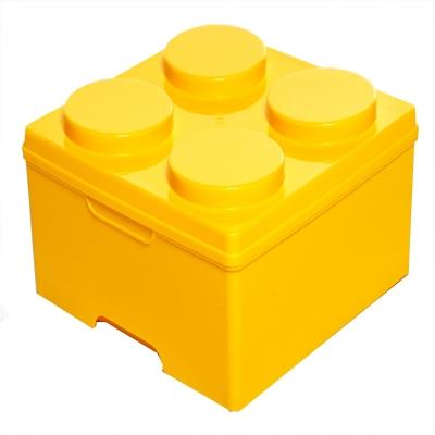 DOLEDO 積木整理箱14公升 三入 –5色可選