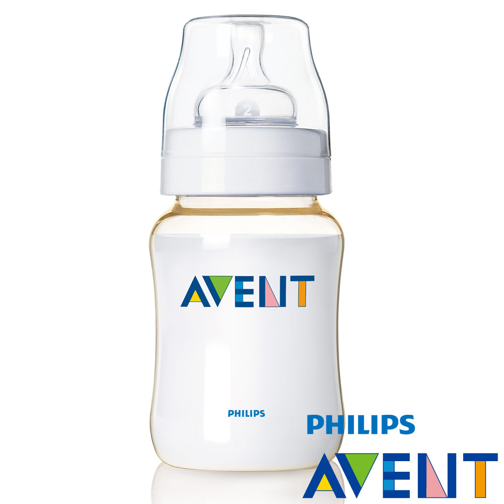 【PHILIPS AVENT】  PES防脹氣奶瓶260ml(單入)