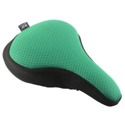 Dr. Air 登山車用氣墊座墊套(馬卡龍系列)-悠閒綠