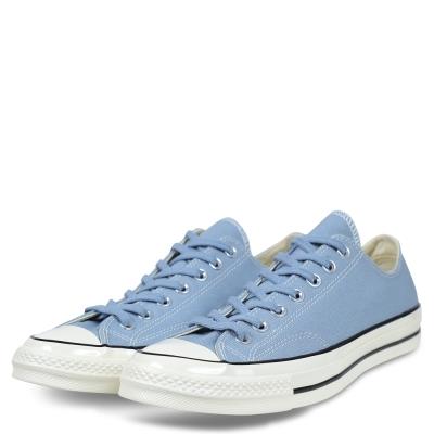 CONVERSE-男女休閒鞋157545C-灰藍