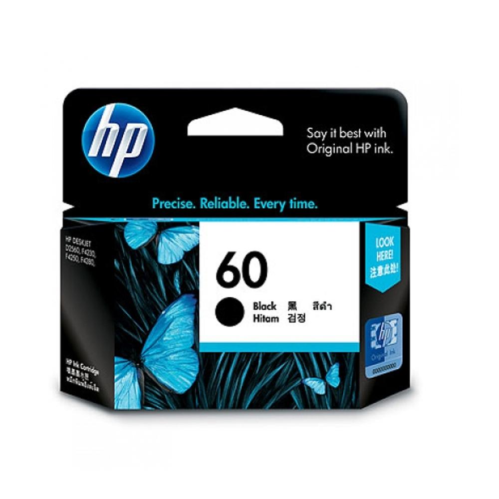 HP CC640WA NO.60原廠黑色墨匣