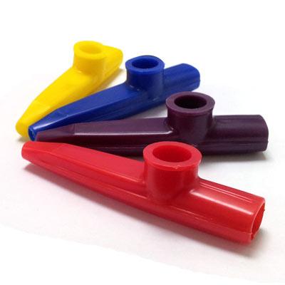 【輕鬆玩音樂】 塑膠製 Kazoo笛 卡祖笛 最簡單伴奏樂器(2入)