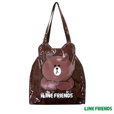 【LINE FRIENDS】熊大輕質造型造型袋(LI_5487)