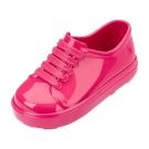 MINI MELISSA漆皮運動風小童鞋-粉紅