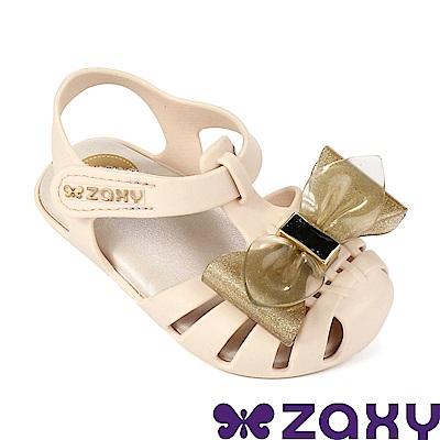 Zaxy 巴西 寶寶童魔法蝴蝶休閒娃娃鞋-米色