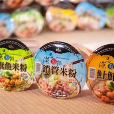 基隆漁品軒-海鮮米粉組-旗魚-鎖管-土魠-3入-組