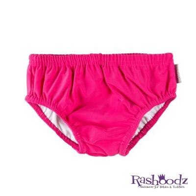 澳洲 RASHOODZ 兒童抗UV防曬游泳尿布褲 (粉紅色)