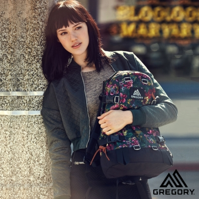 Gregory 22L All Day 日系後背包 花園油彩