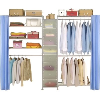 巴塞隆納─W2型90+D+W4型90衣櫥置物櫃