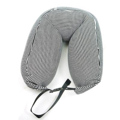 可扣式微粒子頸枕