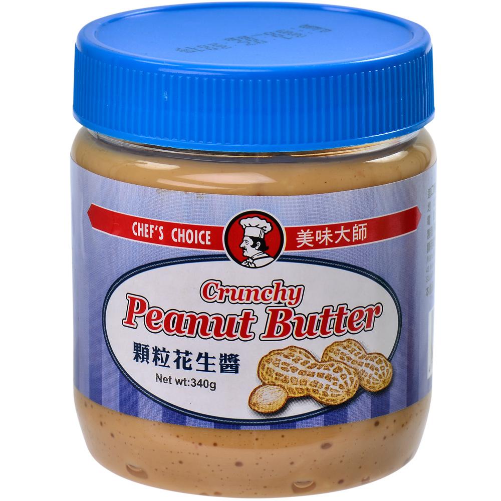 美味大師 顆粒花生醬(340g)
