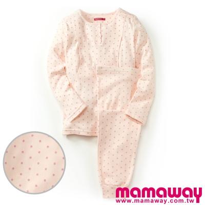 Mamaway-點點孕哺兩用居家服-共二色