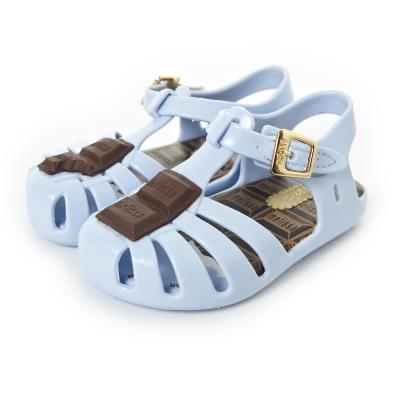 MINI MELISSA貪吃巧克力童鞋-粉藍