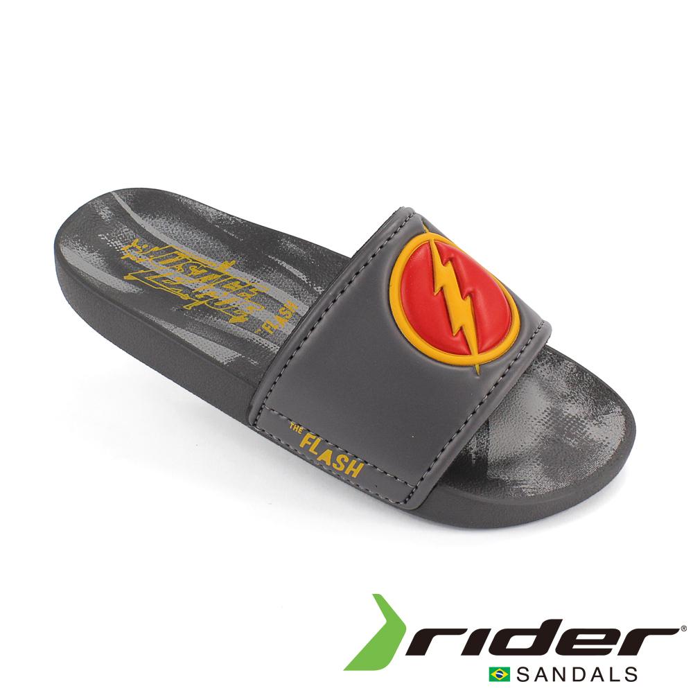 RIDER 巴西-童 正義聯盟 運動拖鞋 灰色/紅色