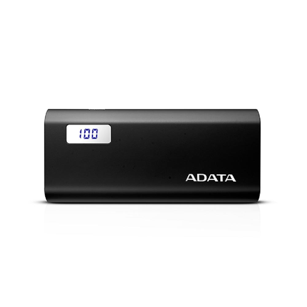 ADATA 威剛 P12500D 行動電源 12500mAh 黑色(額定容量7600mAh)