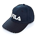 FILA KIDS 經典款六片帽-黑 HTS-4000-BK