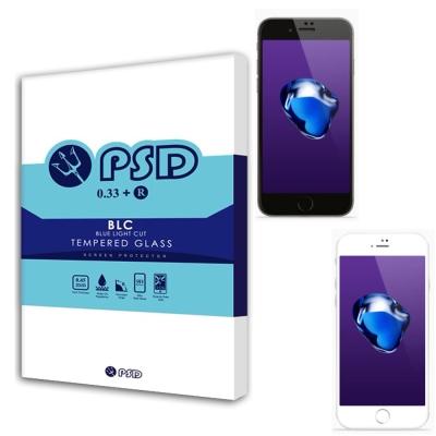 PSD  IPHONE 8 PLUS滿版 BLC 抗藍光疏油疏水鋼化玻璃保護貼