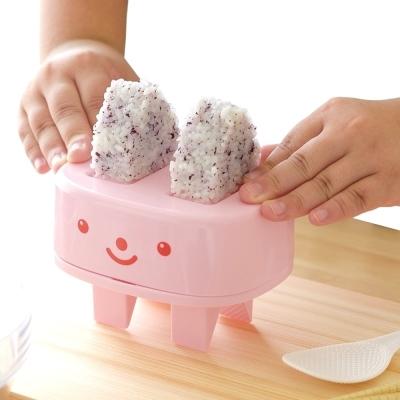 日本製造AKEBONO親子飯糰壓模器(粉紅色)