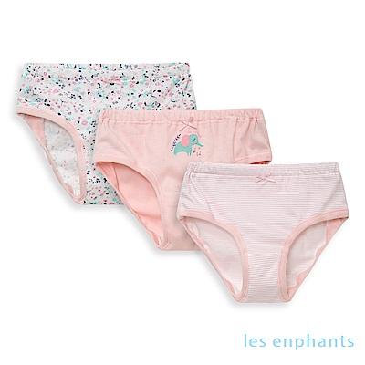 les enphants 女童三角褲(三件組)