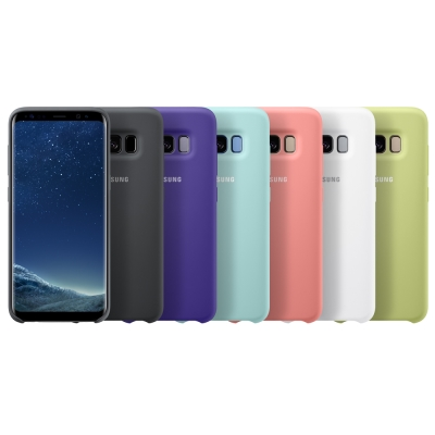 Samsung Galaxy S8 原廠薄型背蓋 ( 矽膠材質 )