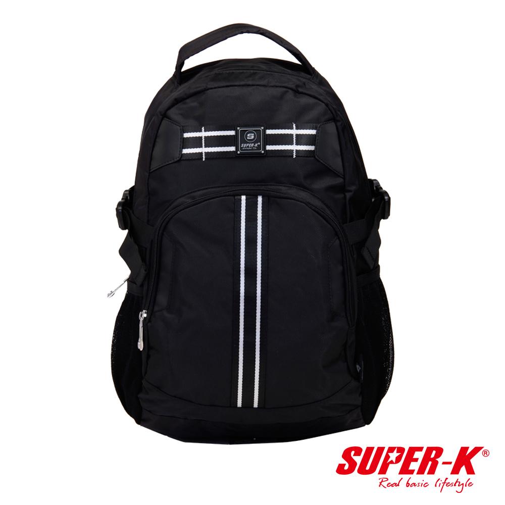 美國品牌【SUPER-K】背部透氣多功能休閒背包☆超值有型(SHB21522)