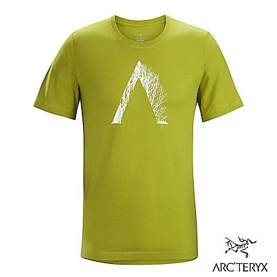 Arcteryx 始祖鳥 24系列 男 有機棉 Regenerat 短袖T恤 黃