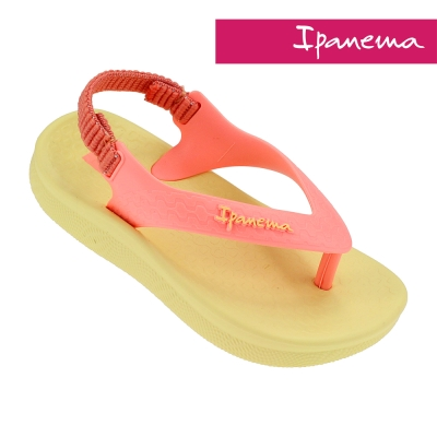 IPANEMA 果凍夏日 寶寶 休閒涼鞋(黃色/橘色)