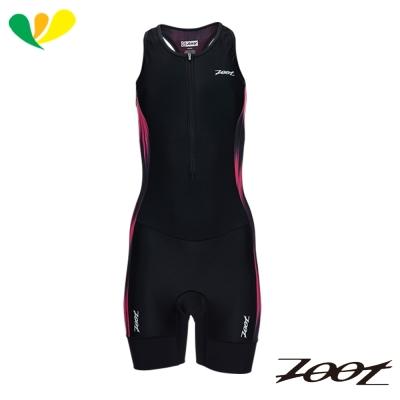 ZOOT 專業級肌能連身鐵人衣(女)(焰彩黑) Z1706011