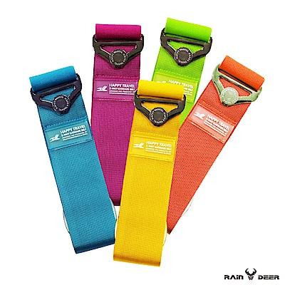 RAIN DEER 繽紛純色彈力行李箱束帶 (1入隨機出貨)