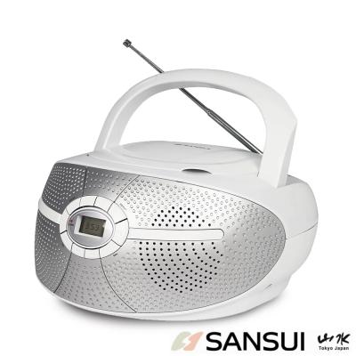 SANSUI山水CD/FM/AUX手提式音響(SB-D30)
